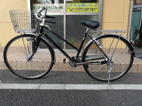 自転車の 自転車 スタンド 交換 変速機 : フレームと前かごは、シティ車 ...